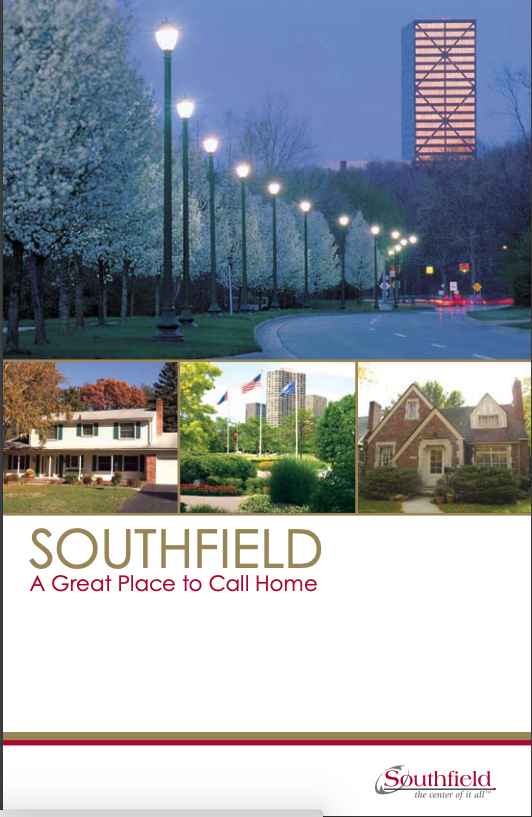 Southfield a great place to call home brochure cover