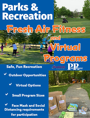 Parks & Recreation Fall 2020 Fresh Air Fitness and Virtual Programs Guide