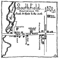 Historic Map of Southfield