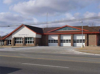 View of Fire Station #4