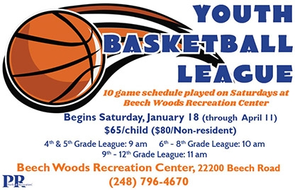 Winter 2020 Youth Basketball League