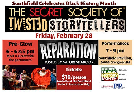 Southfield Celebrates Black History Month - Storytellers Event