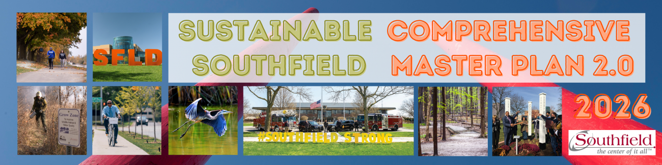 Sustainable Southfield Master Plan 2026 Banner