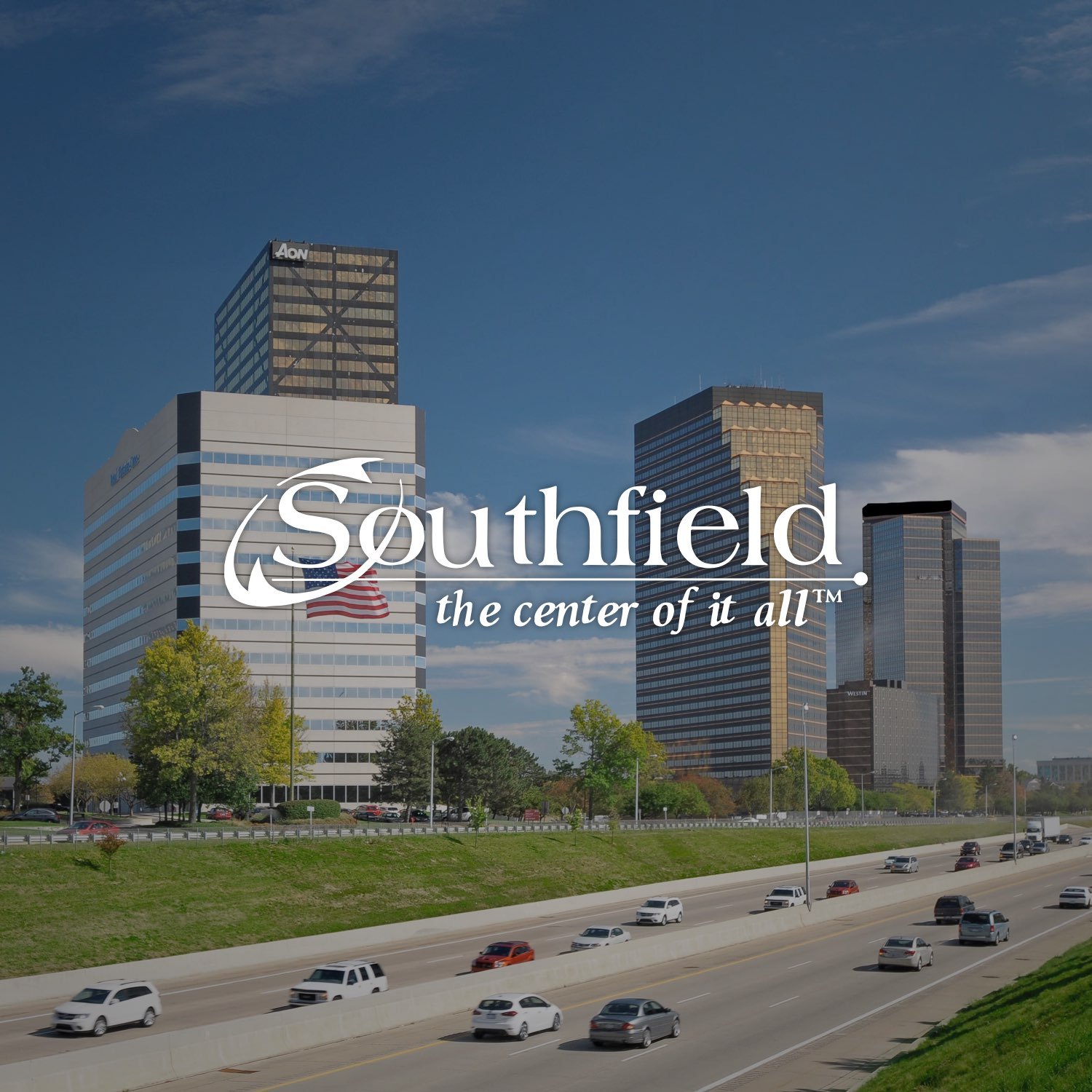 City of Southfield Skyline